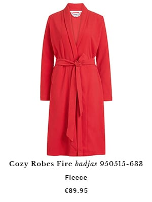 Cozy robes Fire badjas
