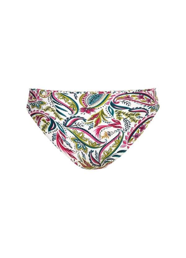 CYELL Wajang Floral hoog bikinibroekje Hoge pasvorm