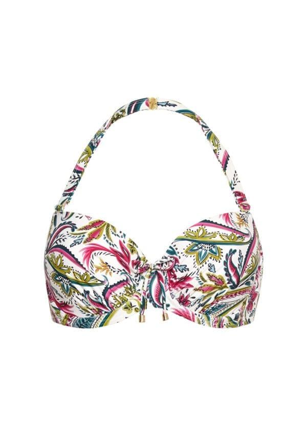 CYELL Wajang Floral grote cupmaat bikinitop Voorgevormde cups en beugel