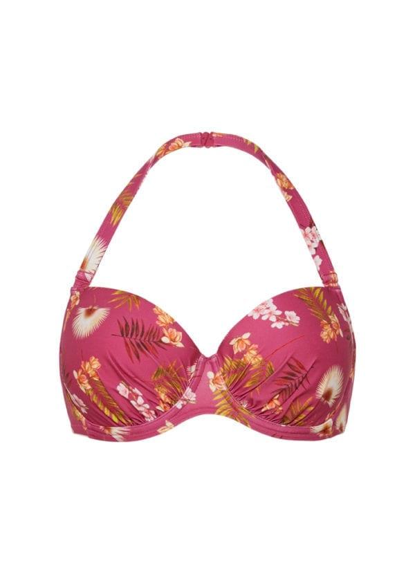 CYELL Swimwear Wild Orchid bikini top