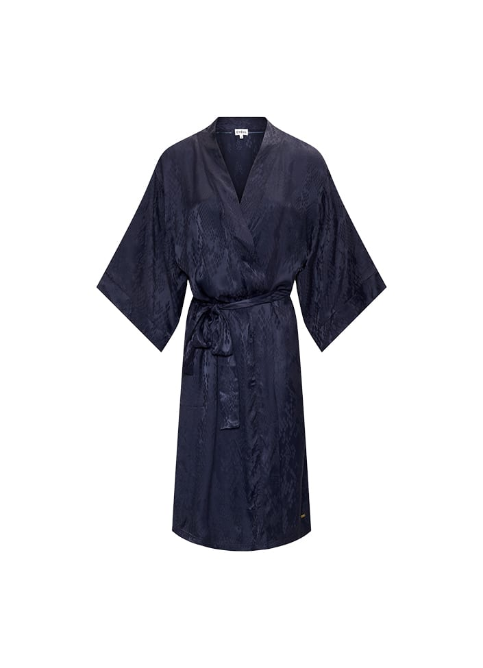 Cyell Luxurious Night kimono - maat 36 (S) blauw
