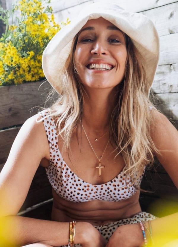 CYELL Swimwear Spot On bikini top