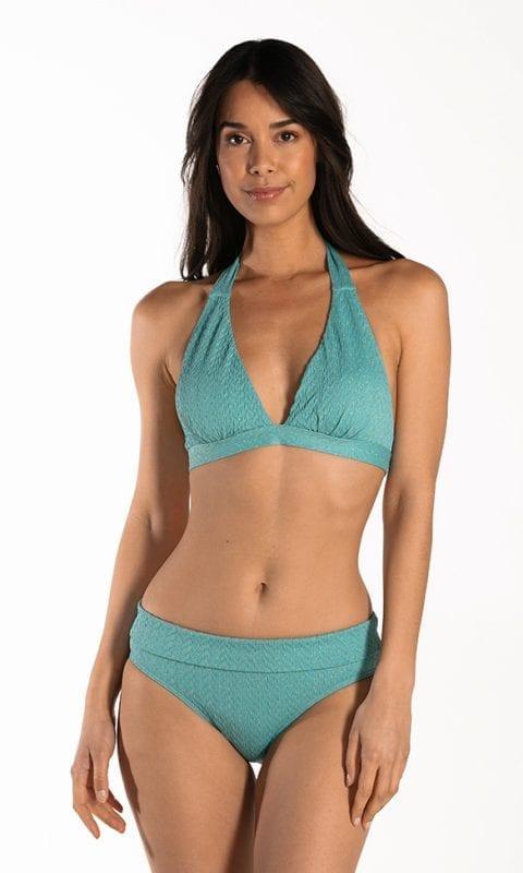 CYELL Azure Sky triangel bikinitop Voorgevormde cups & omslag bikinibroekje Normale pasvorm