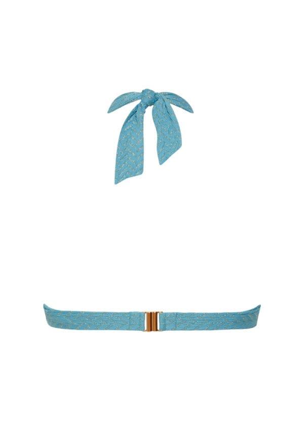 CYELL Azure Sky triangel bikinitop Voorgevormde cups