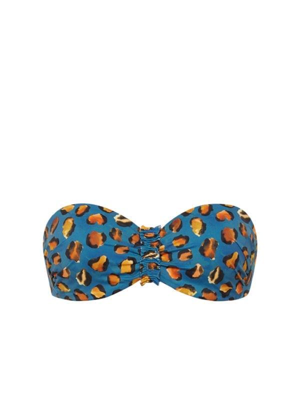 CYELL Pantera bandeau bikinitop Voorgevormde cups & beugel