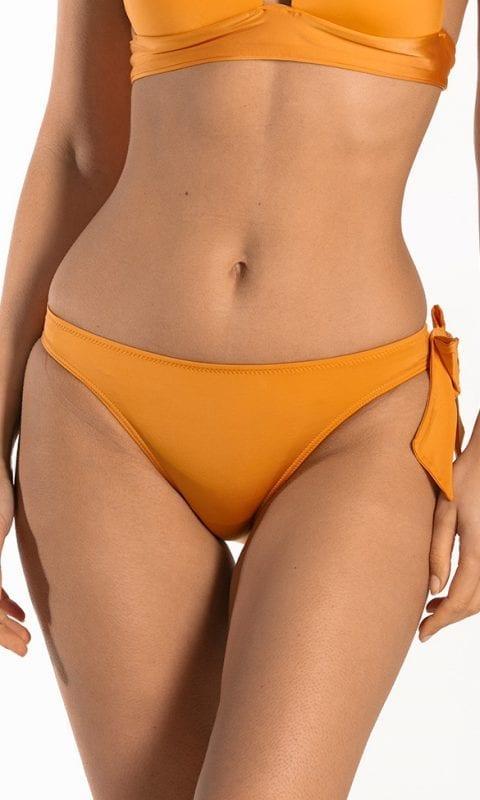 CYELL Shiny Bronze laag bikinibroekje Lage pasvorm