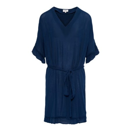 CYELL Embroidered petrol tuniek Van viscose