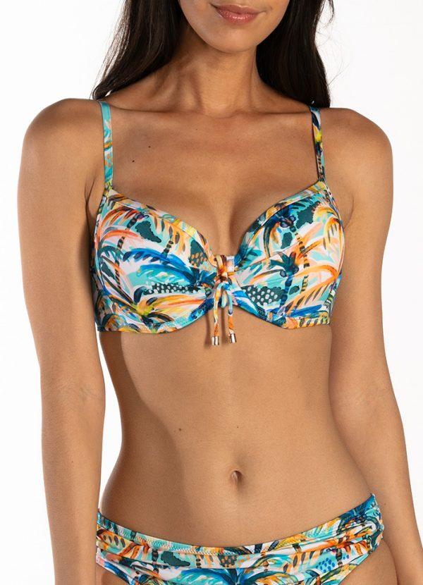 CYELL Under the Palms bikinitop