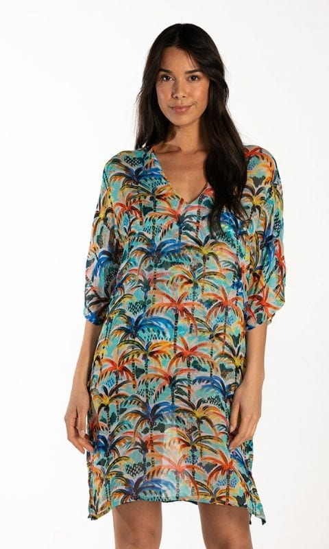 CYELL Under the Palms tuniek Van viscose