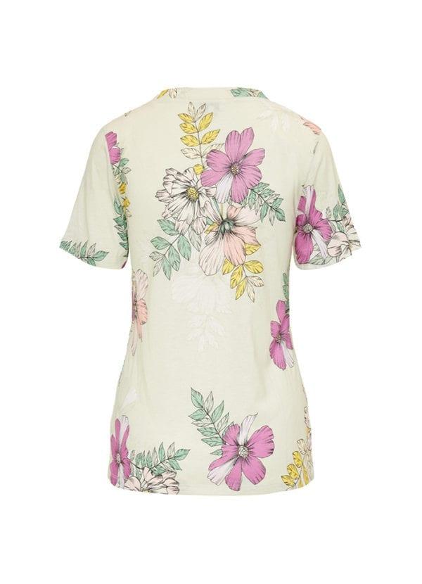 CYELL Green House pyjamatop korte mouwen katoen/modal