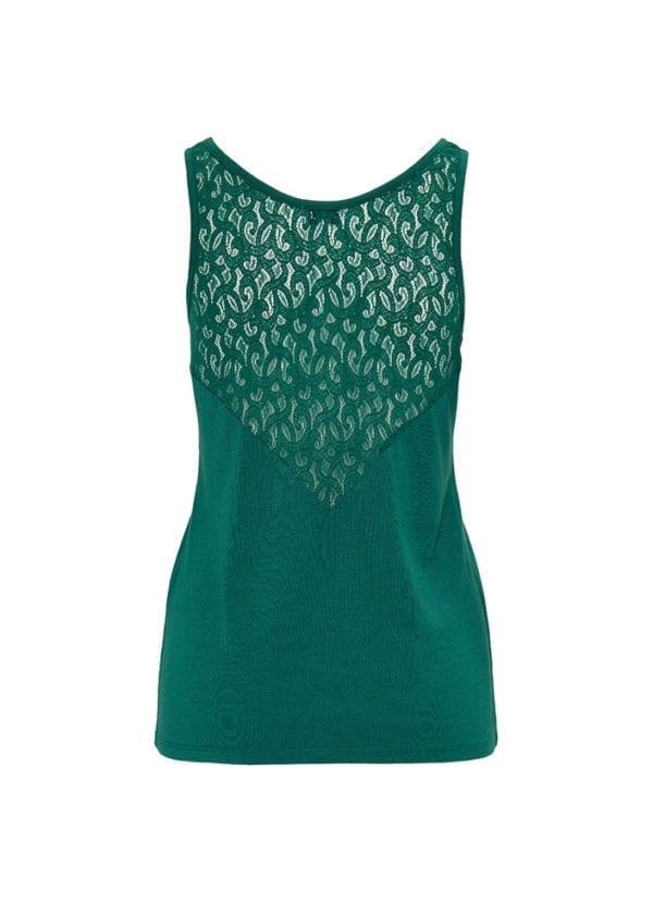CYELL Botanic pyjamatop mouwloos katoen/modal