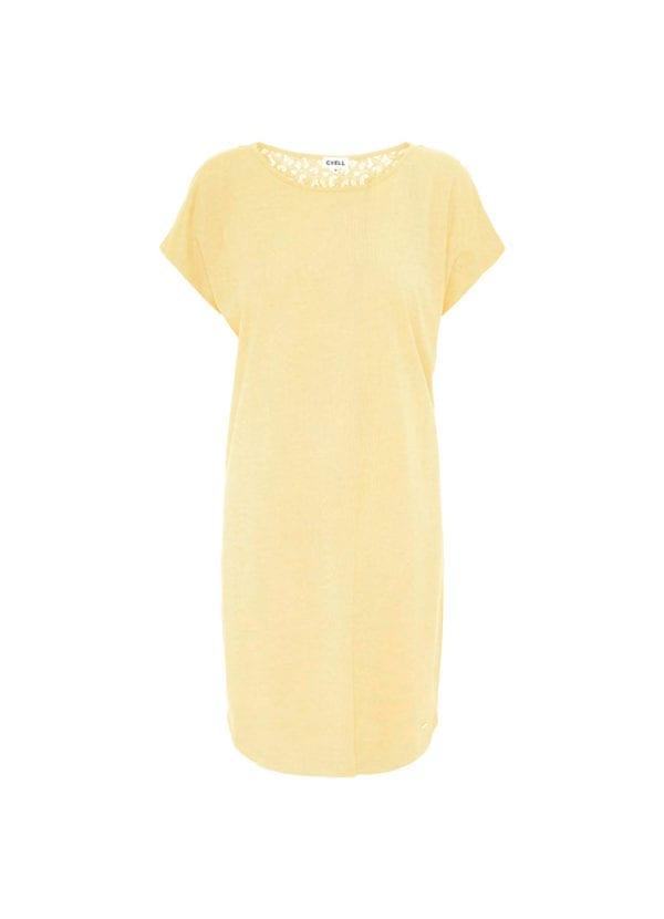 CYELL Lemonade nachthemd korte mouwen katoen/modal