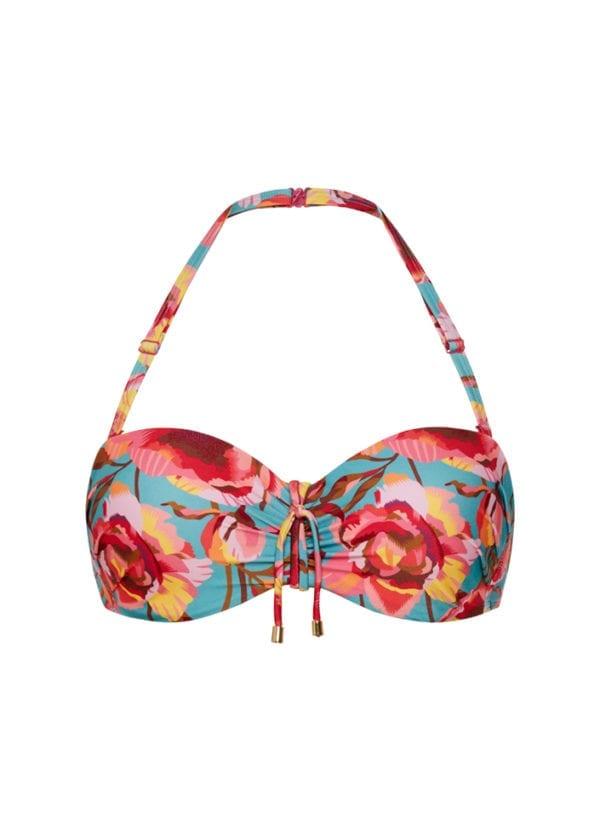 CYELL In Bloom bandeau bikinitop Voorgevormde cups & beugel