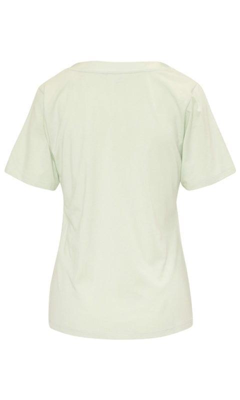 CYELL Satin Laurel pyjamatop korte mouwen katoen/modal