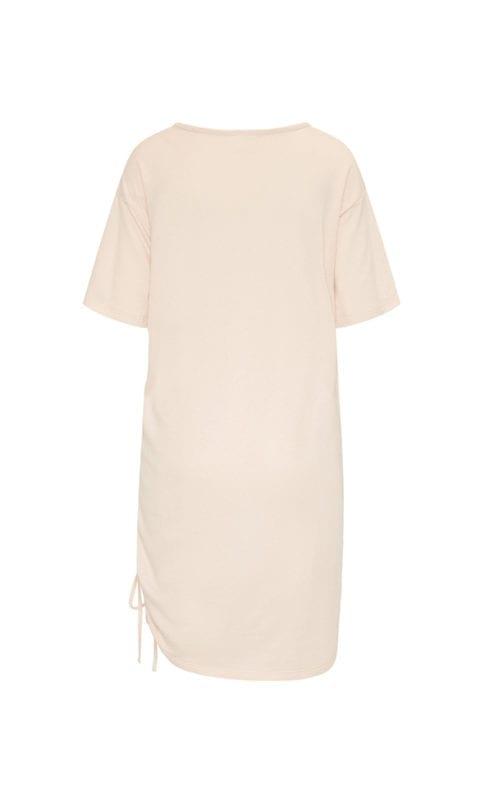 CYELL Beach nachthemd korte mouwen katoen/modal | textuurstof