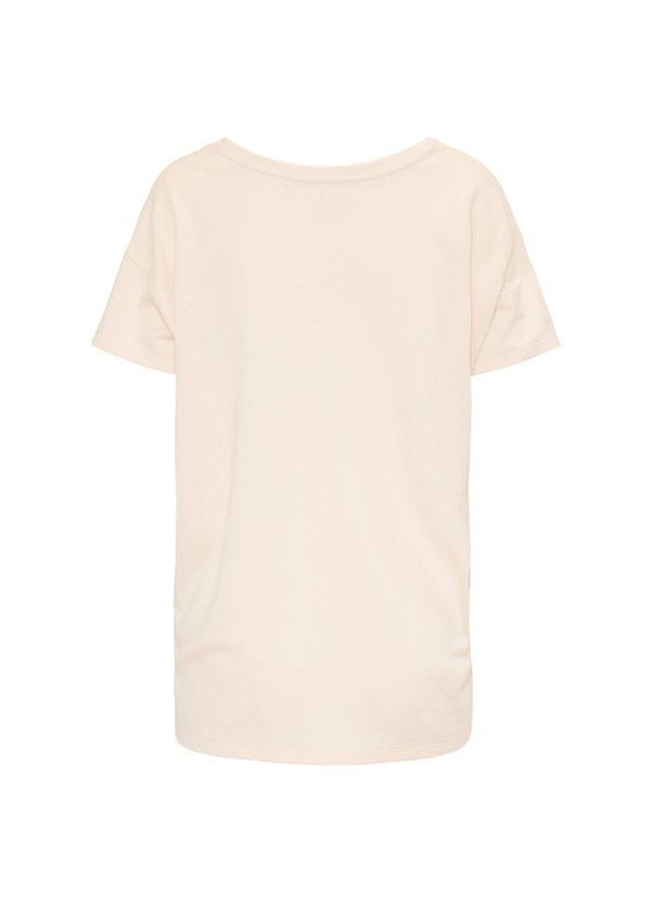 CYELL Beach pyjamatop korte mouwen katoen/modal | textuurstof