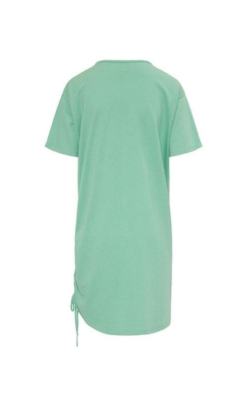 CYELL Eucalyptus nachthemd korte mouwen katoen/modal | textuurstof