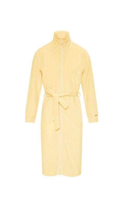 CYELL Lemonade badjas met rits katoen | velvet