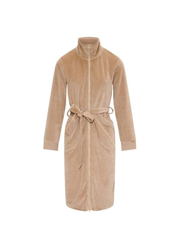 CYELL Pebble badjas met rits katoen | velvet