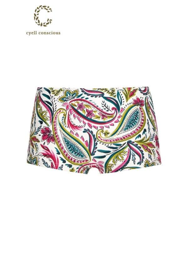 CYELL Wajang Floral regular bikinishortje Normale pasvorm