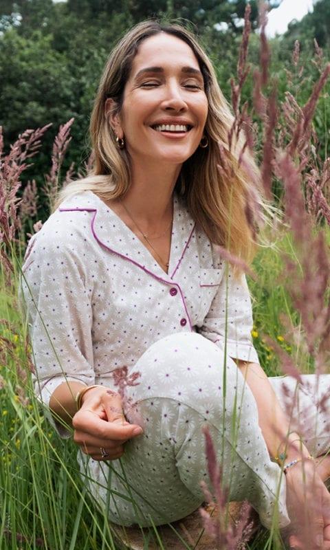CYELL sleepwear Mosaic Flower SS21