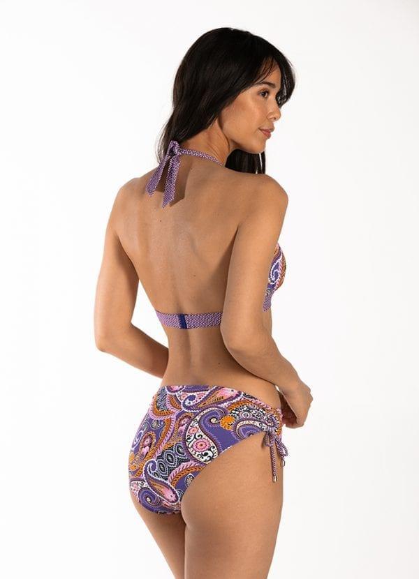 CYELL Pretty Paisley hoog bikinibroekje Hoge pasvorm & Pretty Paisley triangel bikinitop Voorgevormde cups