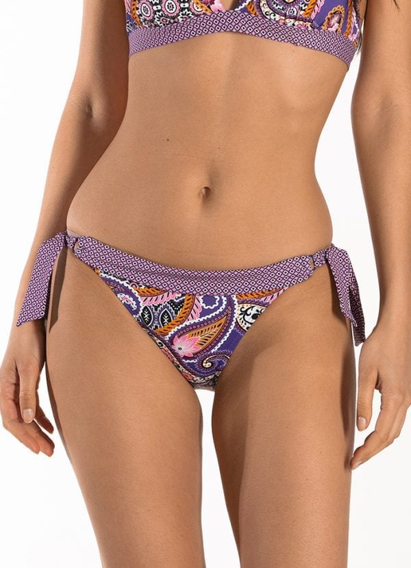 CYELL Pretty Paisley laag bikinibroekje Lage pasvorm
