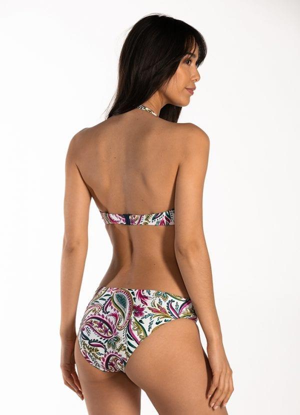 CYELL Wajang Floral regular bikinibroekje Normale pasvorm