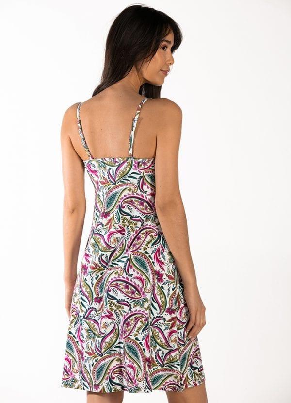 CYELL Wajang Floral strandjurkje Van badkledingmateriaal
