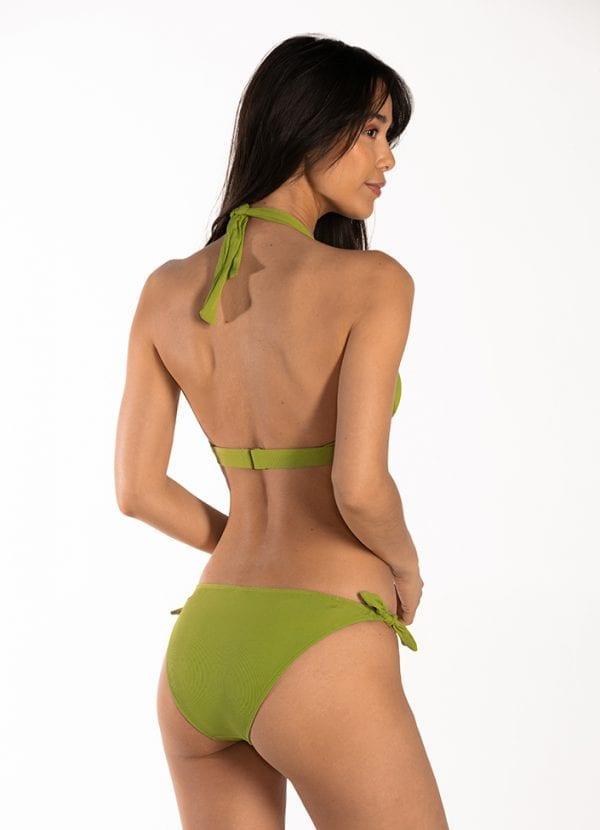 CYELL Pandan Cake laag bikinibroekje Lage pasvorm & Pandan Cake triangel bikinitop Foamcups