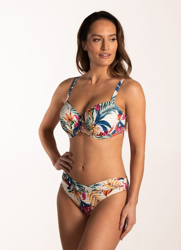 CYELL Paradise Morning grote cupmaat bikinitop Voorgevormde cups & beugel & Paradise Morning regular bikinibroekje Normale pasvorm