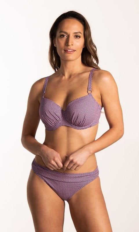 CYELL Pretty Paisley grote cupmaat bikinitop Voorgevormde cups & beugel